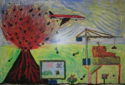 Turm-Acrylmalerei_001